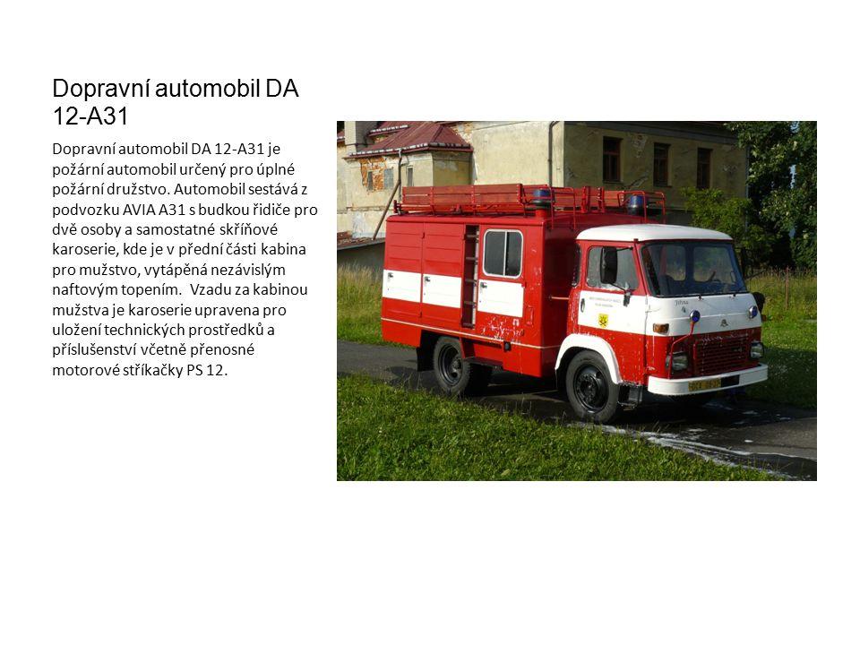Dopravní automobil DA 12-A31