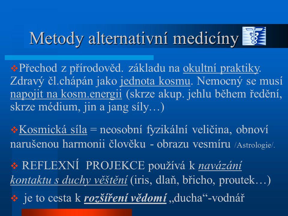 Metody alternativní medicíny