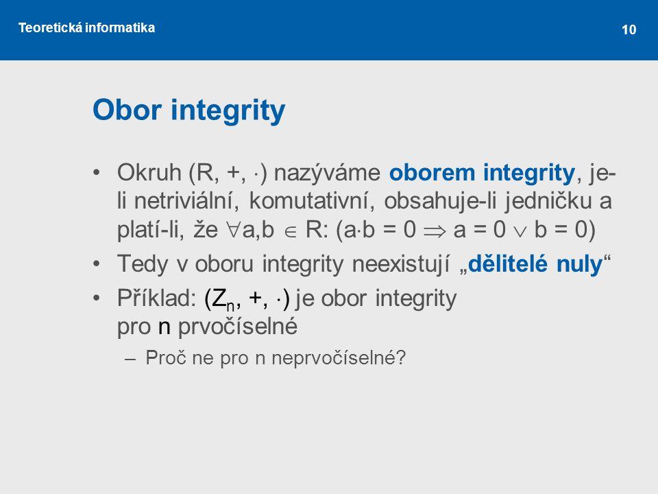 Obor integrity