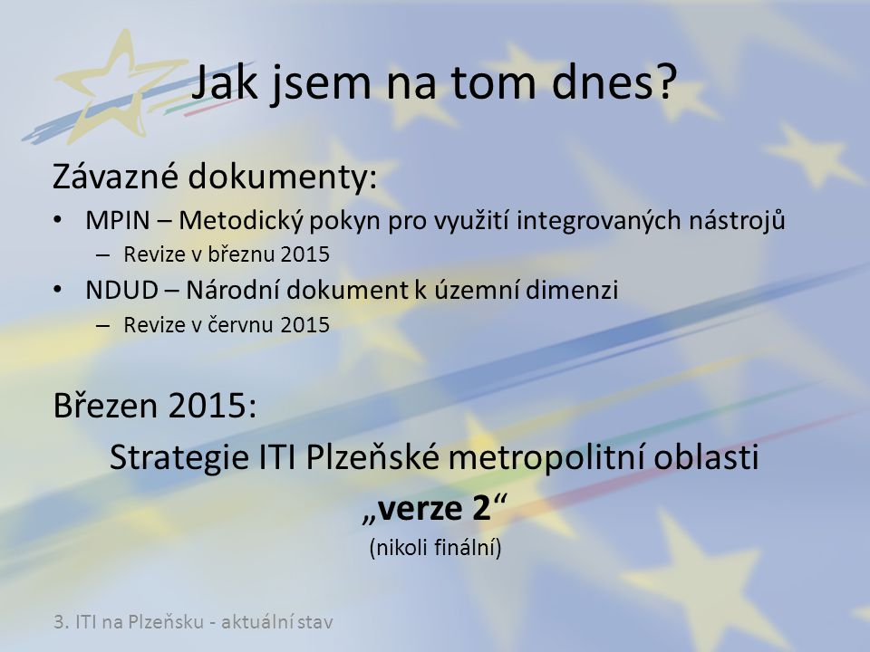Strategie ITI Plzeňské metropolitní oblasti