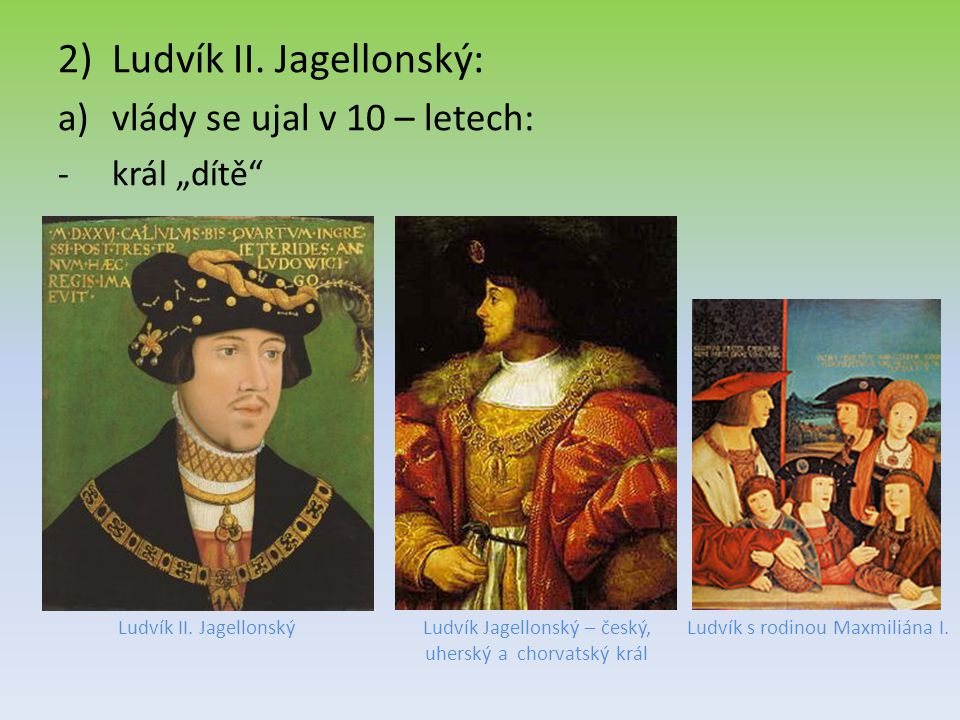 Ludvík II. Jagellonský: