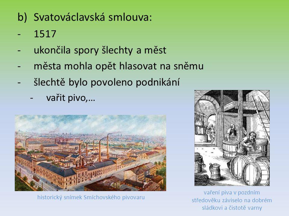 historický snímek Smíchovského pivovaru