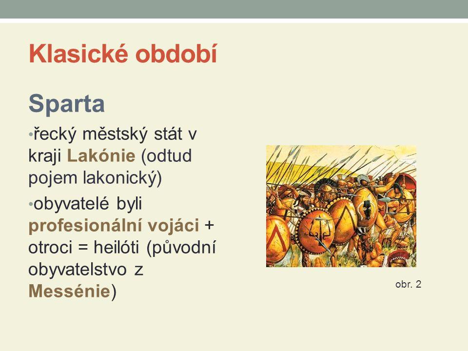 Klasické období Sparta
