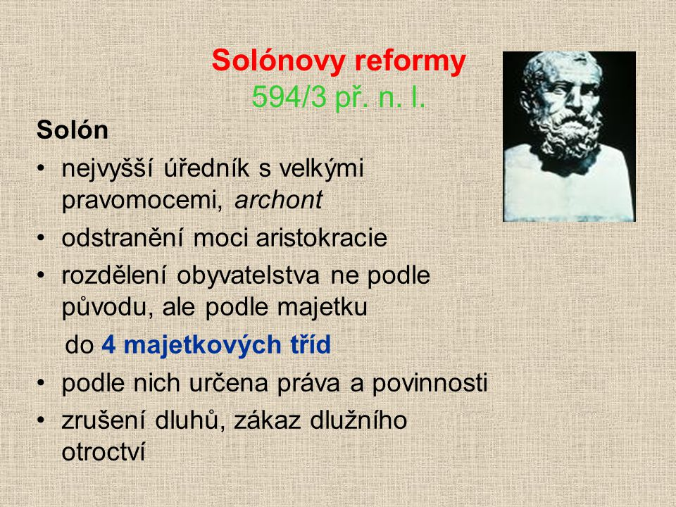 Solónovy reformy 594/3 př. n. l.
