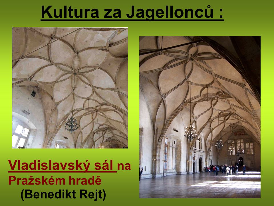 Kultura za Jagellonců :