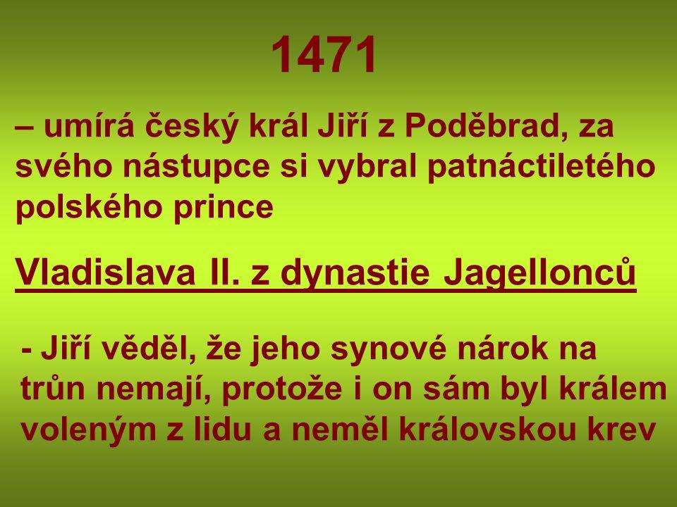 Vladislava II. z dynastie Jagellonců
