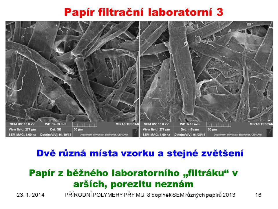 Papír filtrační laboratorní 3