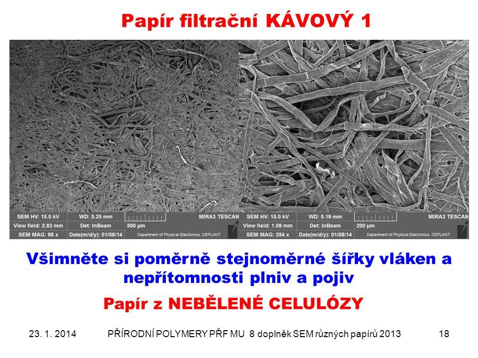 Papír filtrační KÁVOVÝ 1