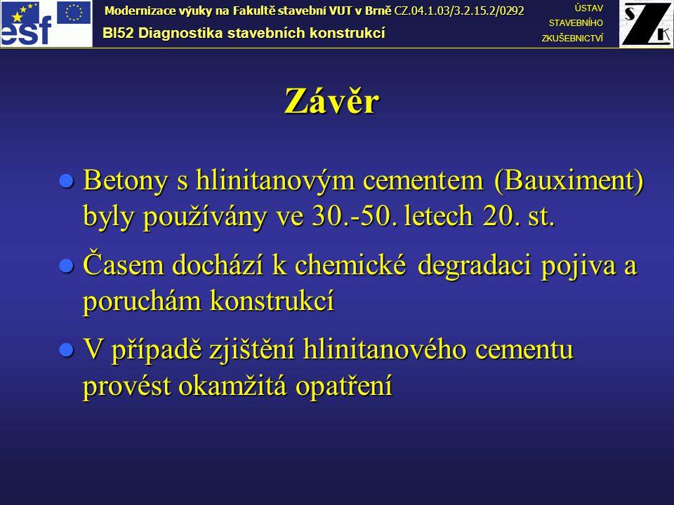Modernizace výuky na Fakultě stavební VUT v Brně CZ.04.1.03/3.2.15.2/0292