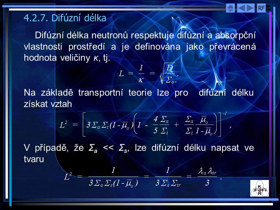 4.2.7. Difúzní délka