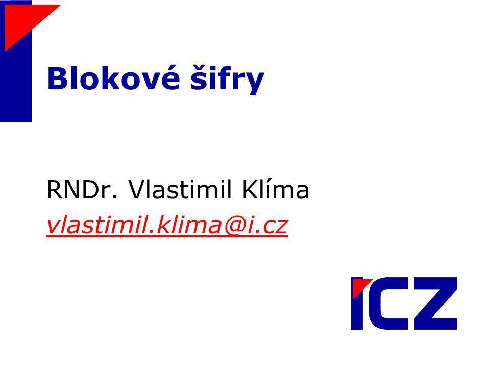 RNDr. Vlastimil Klíma vlastimil.klima@i.cz