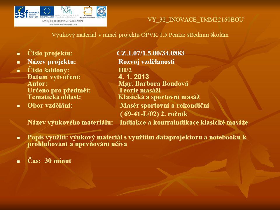 VY_32_INOVACE_TMM22160BOU Výukový materiál v rámci projektu OPVK 1