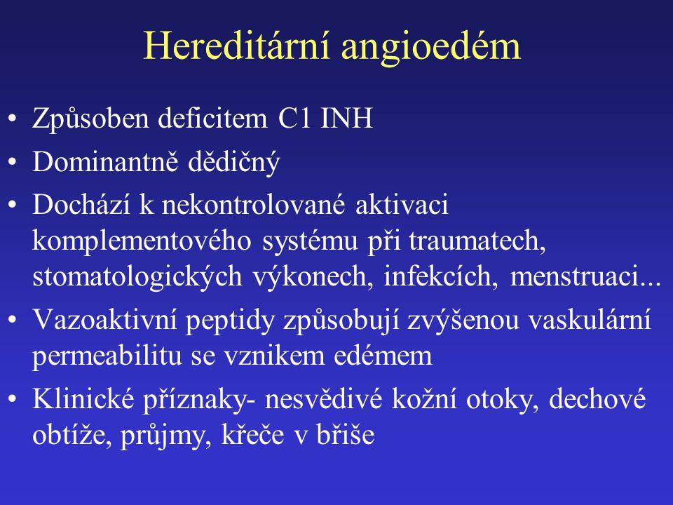 Hereditární angioedém