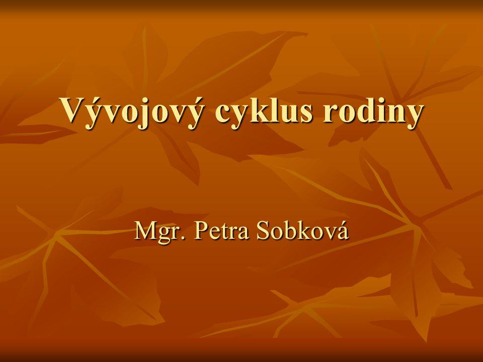 Vývojový cyklus rodiny Mgr. Petra Sobková