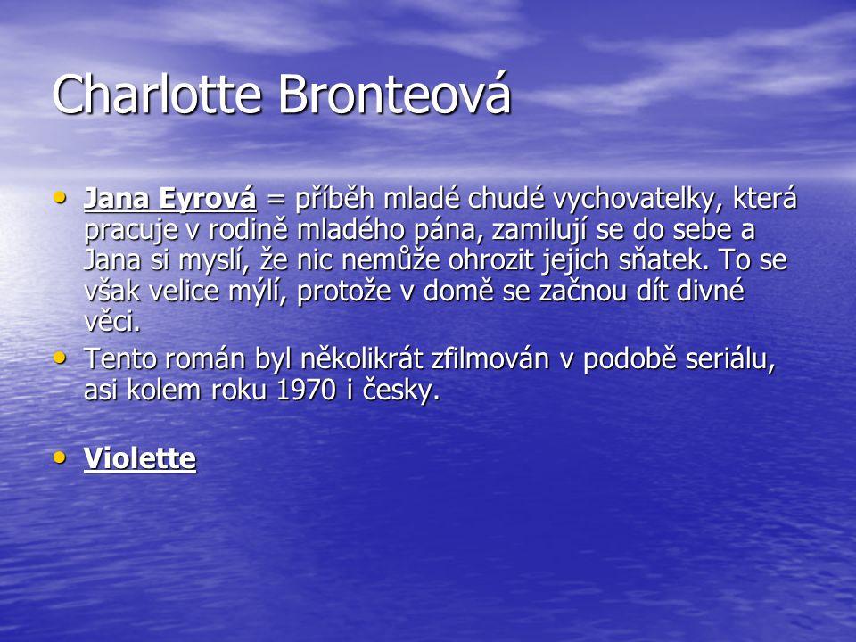 Charlotte Bronteová