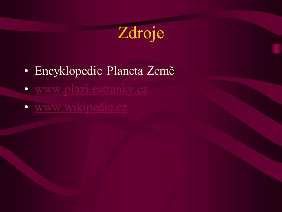 Zdroje Encyklopedie Planeta Země www.plazi.estranky.cz