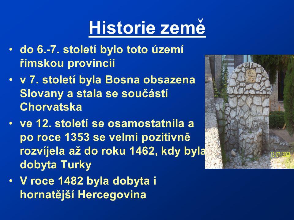 Historie zeme do 6.-7. století bylo toto území římskou provincií