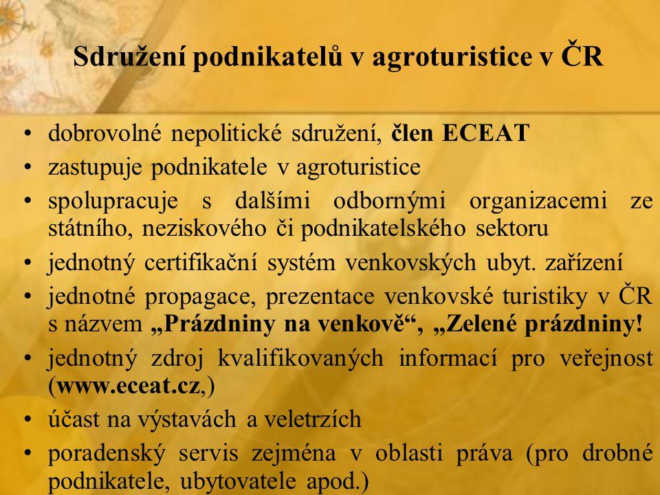 Sdružení podnikatelů v agroturistice v ČR