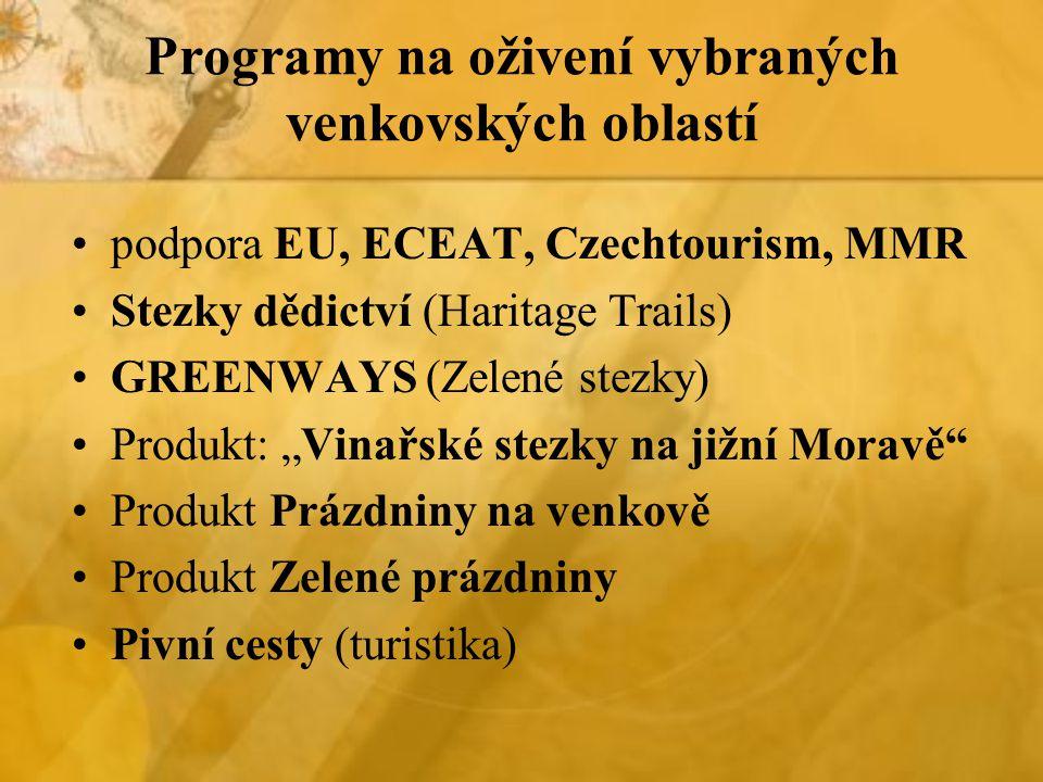 Programy na oživení vybraných venkovských oblastí