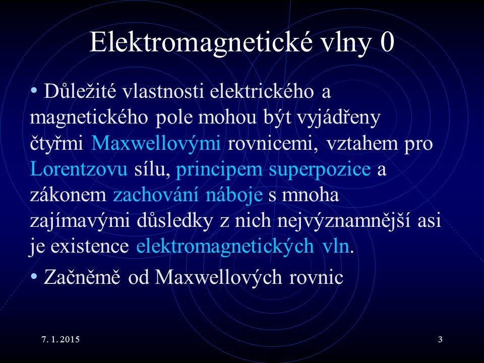 Elektromagnetické vlny 0