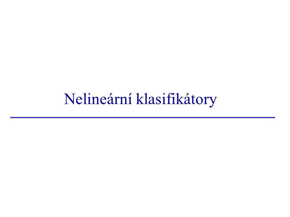 Nelineární klasifikátory
