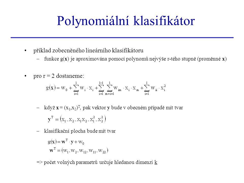 Polynomiální klasifikátor