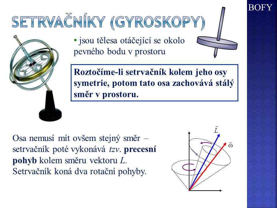 Setrvačníky (gyroskopy)