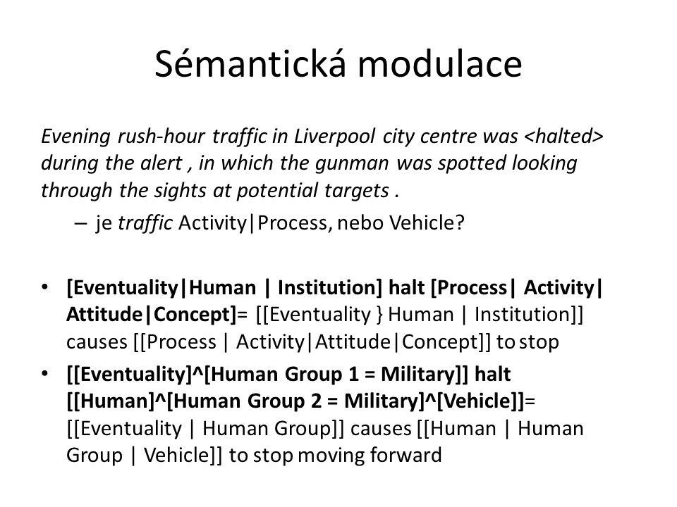 Sémantická modulace