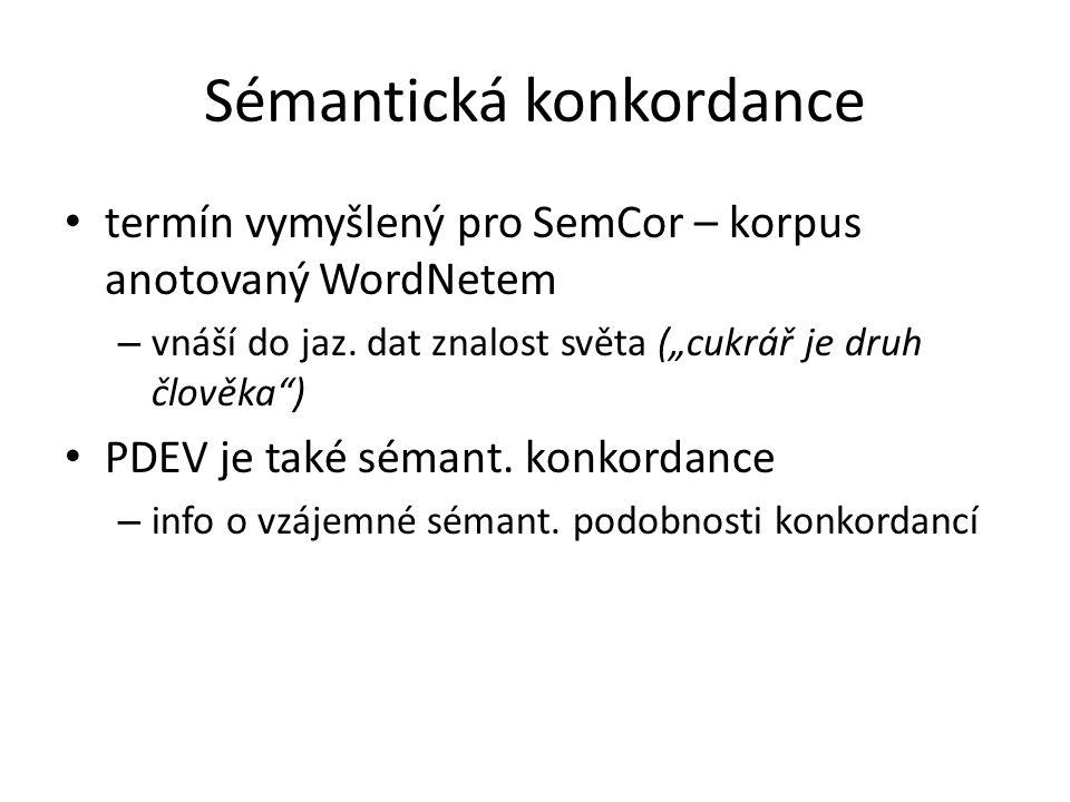 Sémantická konkordance
