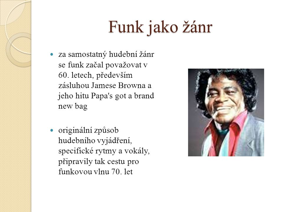 Funk jako žánr