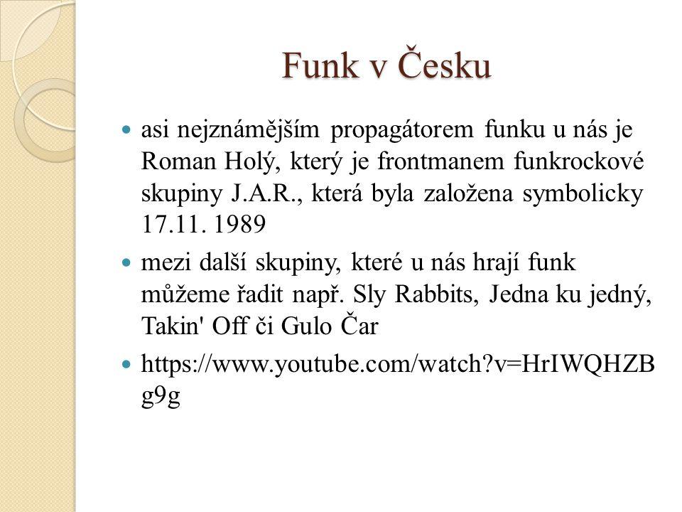 Funk v Česku