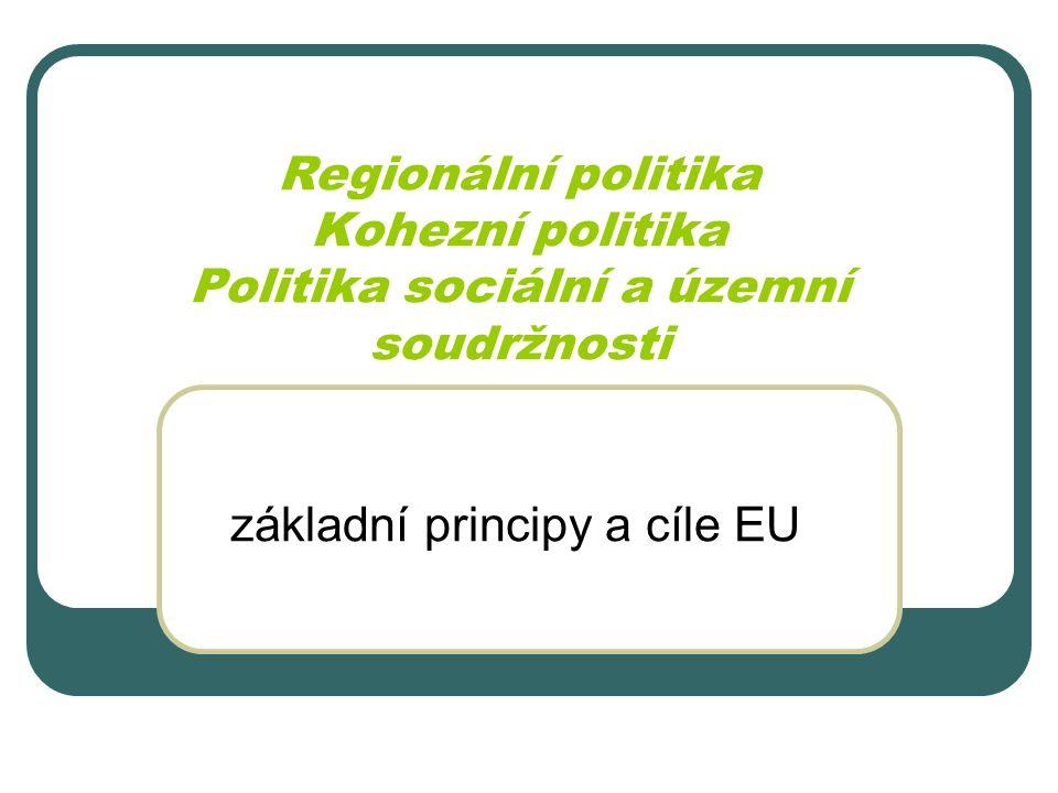 základní principy a cíle EU