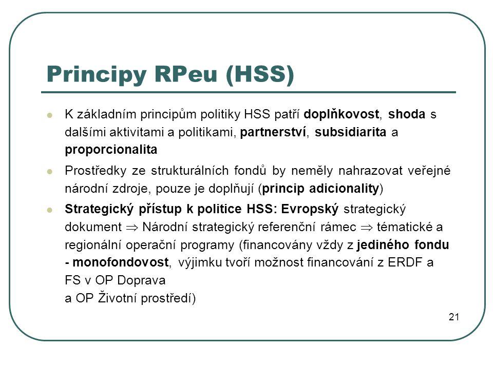 Principy RPeu (HSS)
