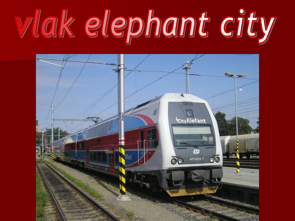 vlak elephant city