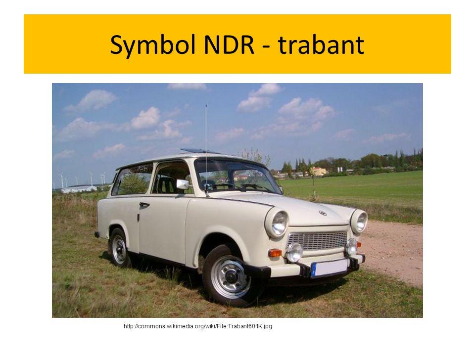Symbol NDR - trabant http://commons.wikimedia.org/wiki/File:Trabant601K.jpg