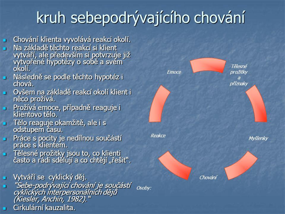 kruh sebepodrývajícího chování