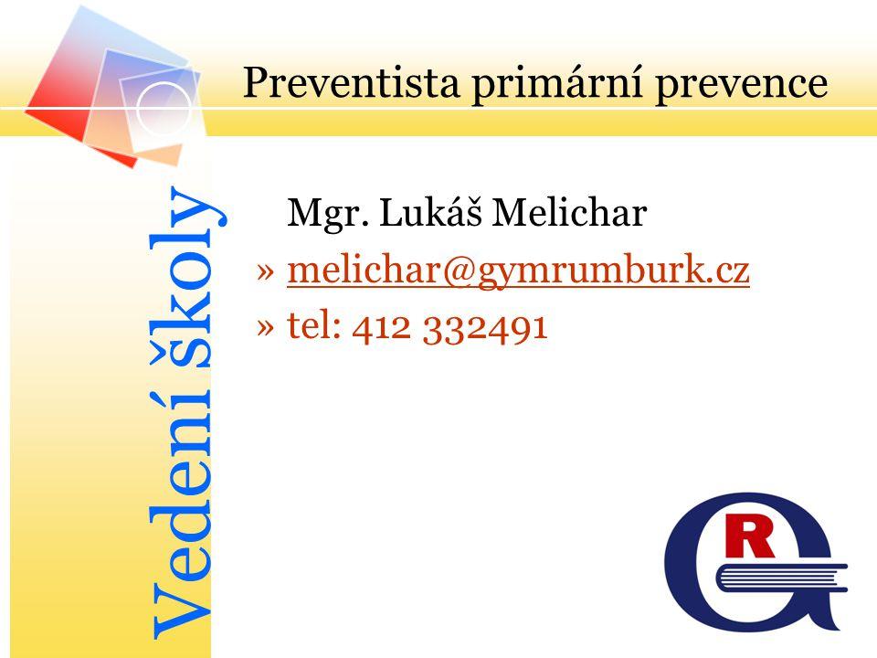 Preventista primární prevence