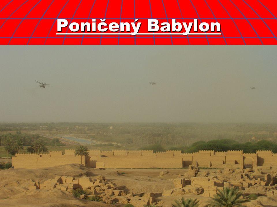 Poničený Babylon