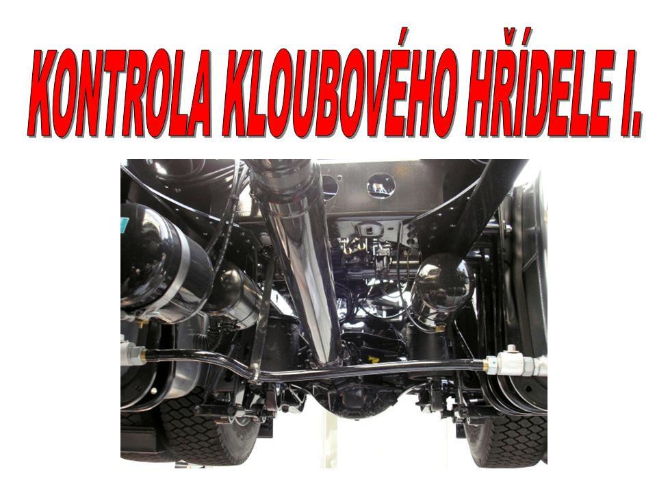 KONTROLA KLOUBOVÉHO HŘÍDELE I.