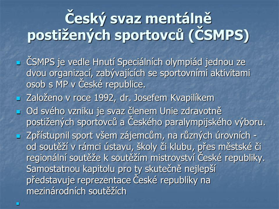 Český svaz mentálně postižených sportovců (ČSMPS)