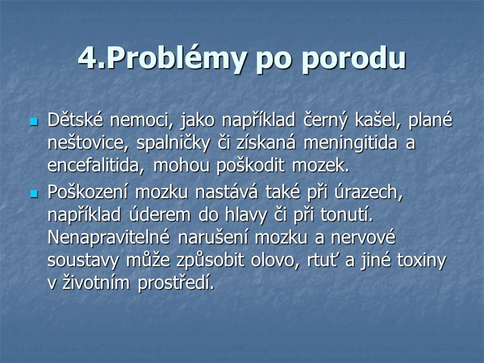 4.Problémy po porodu