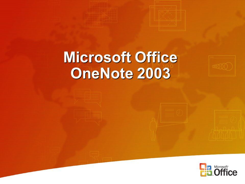 Microsoft Office OneNote 2003