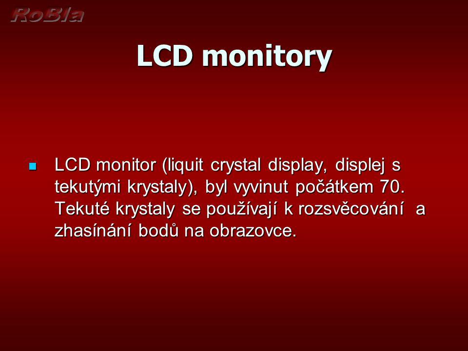 LCD monitory