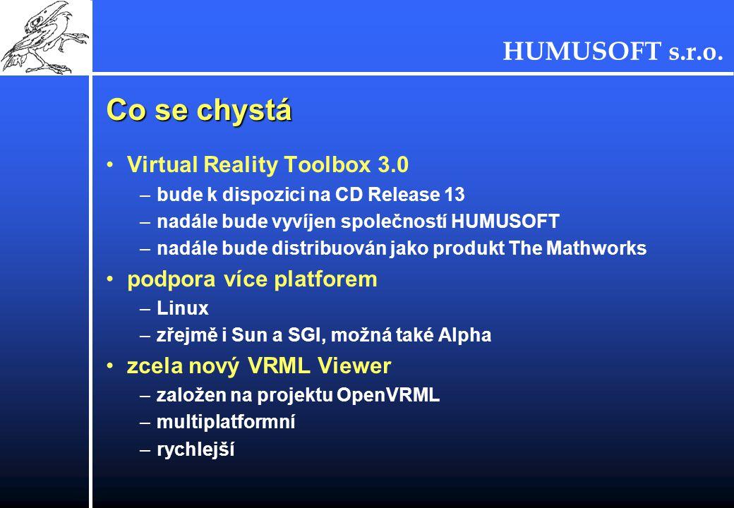 Co se chystá Virtual Reality Toolbox 3.0 podpora více platforem