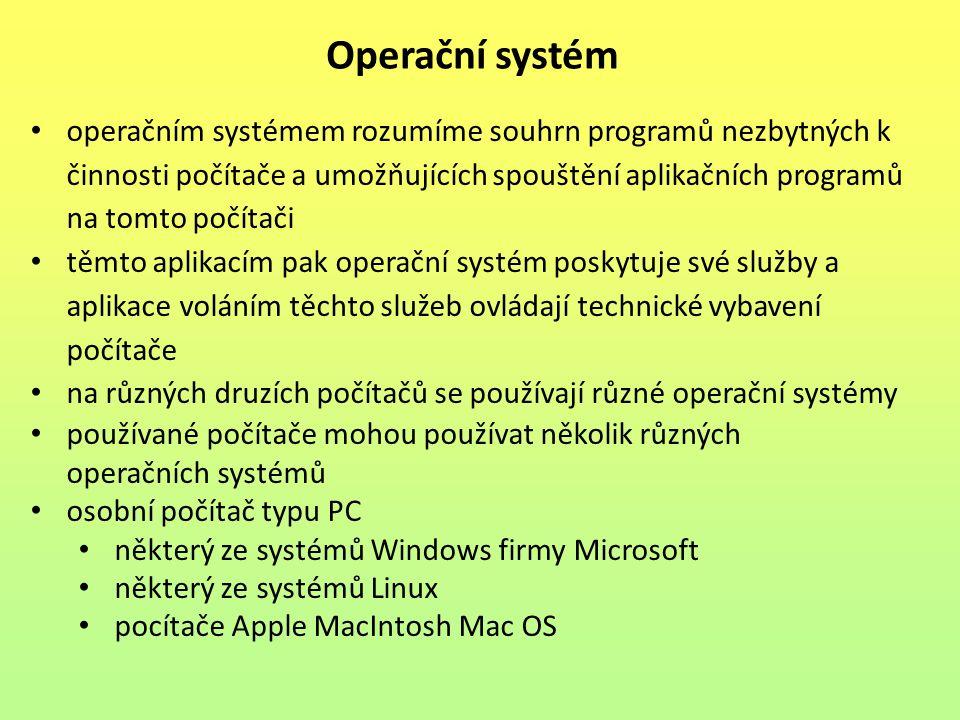 Operační systém