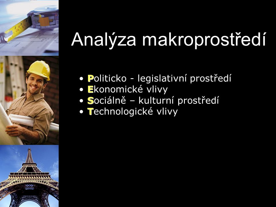 Analýza makroprostředí
