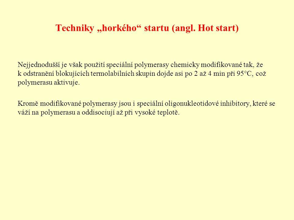 """Techniky """"horkého startu (angl. Hot start)"""