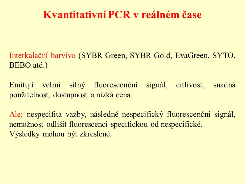 Kvantitativní PCR v reálném čase
