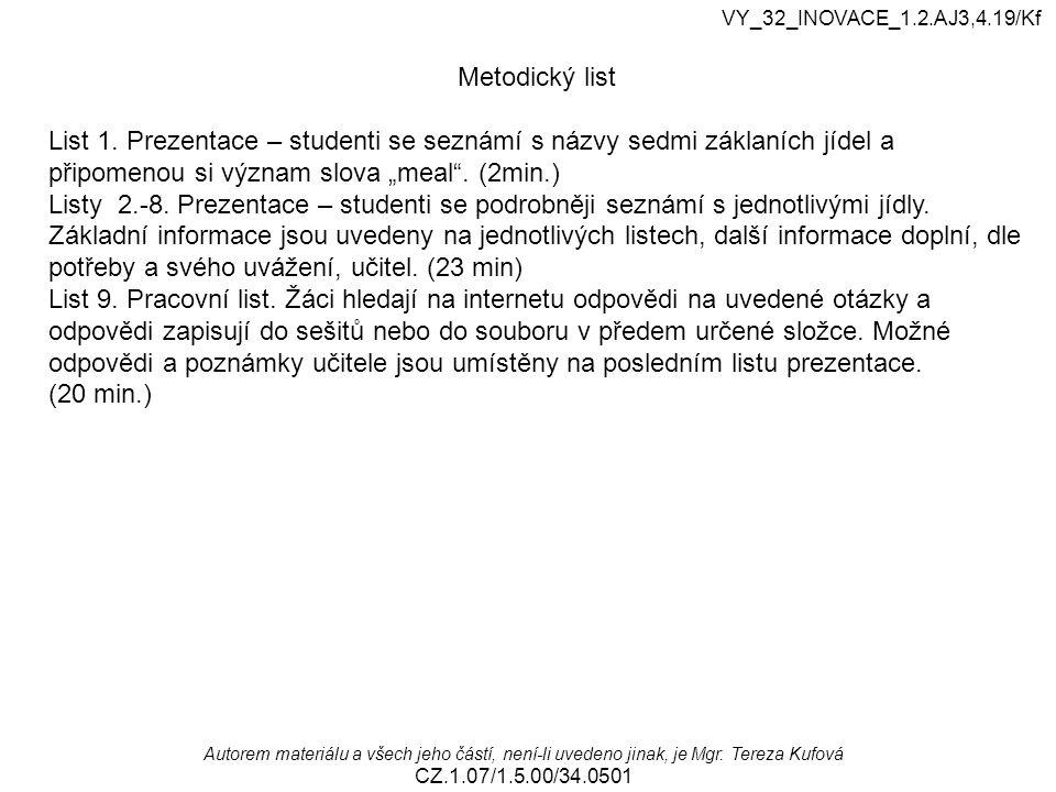 VY_32_INOVACE_1.2.AJ3,4.19/Kf Metodický list.