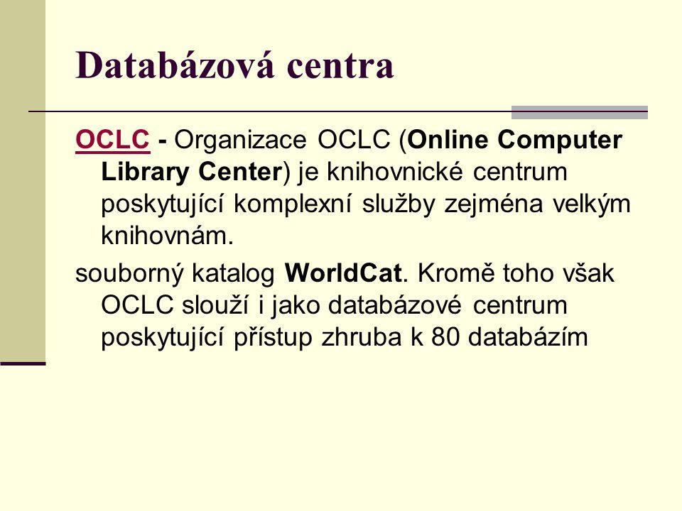 Databázová centra